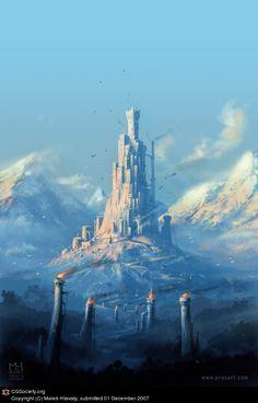 Heart of the Mountain by Marek Hlavaty | 2D | CGSociety