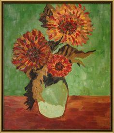 Sunflowers Vincent van Gogh reproduction