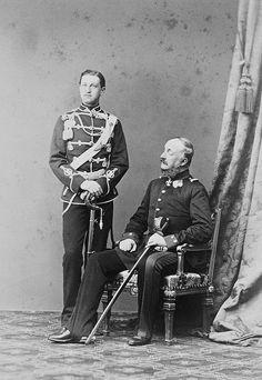 George V of Hanover and his only son Ernest Augustus. Ernst August, Christian Ix, British Monarchy, Royal House, Queen Victoria, British Royals, Reign, Denmark, Kronprinz