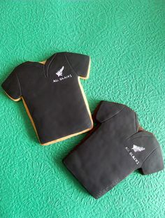 All Blacks Cookies - @Sophie Robinson Keeling you should make All Blacks cakepops!!!!!!!!!