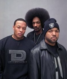 Dre, Snoop, Ice Cube