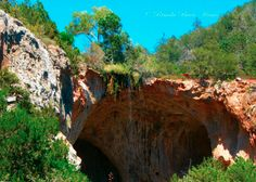 Tonto Natural Bridge  outside Payson, AZ