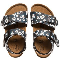 4f9d399c43a9 Birkenstock Navy Blue  New York  Mickey Sandals at http   www.