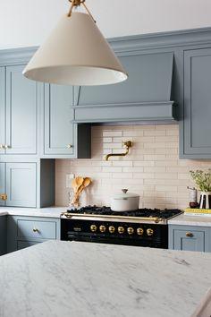 One Room Challenge - Fall 2019 - The Kitchen Reveal - Erin Kestenbaum Updated Kitchen, New Kitchen, Kitchen Dining, Kitchen Decor, Kitchen Ideas, Decorating Kitchen, Kitchen Small, Kitchen Cabinetry, Kitchen Island