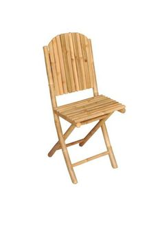 folding bamboo garden chair amazoncouk kitchen home