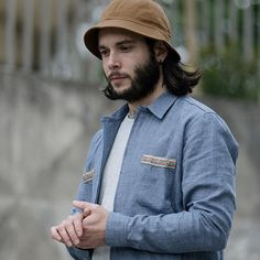 Chemise zippée 'Mina' 100% coton made in France. #apadanaparis #lookbook #collection #ss15 #shirt #chemise #madeinfrance #paris #apadanaparis #bob #bucket