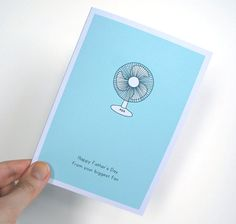 Your Biggest Fan Father's Day Card. Recycled by DarwinDesignsCards, £2.40