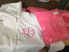 Monogrammed bridesmaid hoodies, gifts for bridesmaid embroidered personalized Monogram Hoodie, Full Zip Hoodie, Gifts For Father, Hoodies, Sweatshirts, Adidas Jacket, Zip Ups, Initials, Bridesmaid