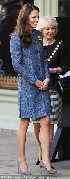 Duchess Kate Joins the Queen and Camilla for a Visit to Fortnum and Mason - March 1, 2012