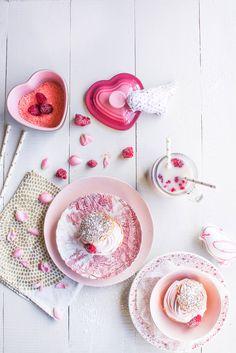 Choux chantilly cœur framboise {Saint-Valentin} - aime & mange