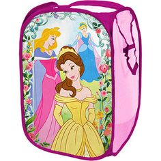 I want to get this for the girls room. Disney - Princess Square Pop up Hamper