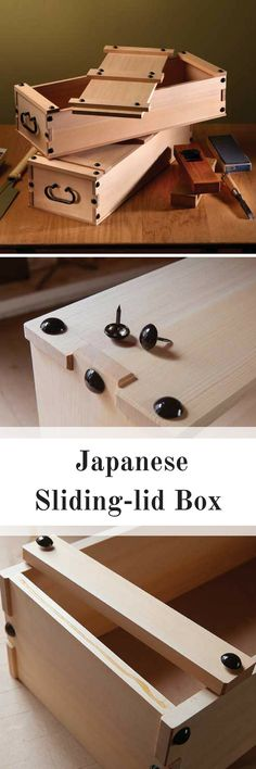 Learn how to make this simple and clever finger-jointed Japanese Sliding-Lid Box, by Christopher Schwarz.