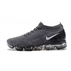 0742177008 Cheap Nike Air VaporMax Flyknit 2 Mens Womens Black Grey Running Shoes  Online
