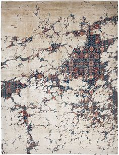 Jan Kath Rug - Modern Heritage   Soft furnishing , especially #rugs can add such a feature when it comes to #Interiordesign   www.spinzi.com