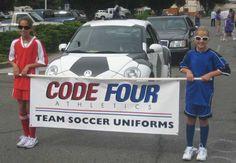 Soccer Car on parade