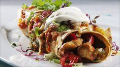 Enchiladas med kylling - Prøv denne smakfulle retten fra Mexico!