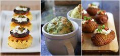 Finger food para vegetarianos: sabor e diversidade. Polenta, quiche e batata assada.  Casamentos únicos: Brunch intimista e sofisticado | Paperland & Co.