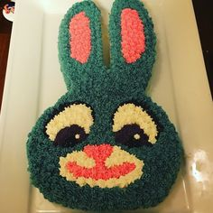 Judy Hopps Easter Birthday cake!  I'm not a baker by any means :)