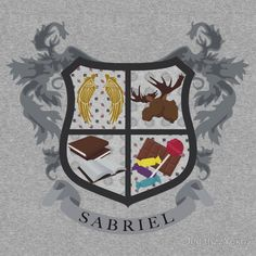 'Sabriel coat of arms' T-Shirt by JudithzzYuko Destiel, Historical Women, Historical Photos, Sam And Gabriel, Circus Music, Supernatural Ships, Asian History, British History, Superwholock