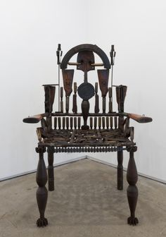 <em>Untitled Throne</em>, 2015
