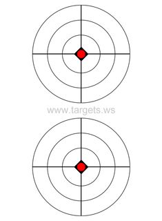 29 best targets bb pellets images in 2019 guns firearms Glock 19 Pistol 30 Clip print your own bullseye shooting targets