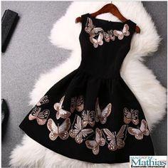 Mini Vestido Festa Elegante