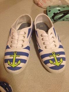 My shoes!!! DIY!!