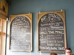 Odd Duck updates its menu daily to reflect the offerings, which are created from local ingredients.