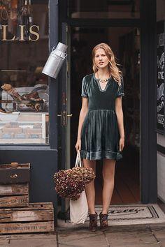 Velvet Tunic Dress