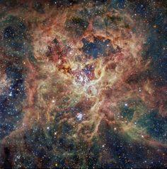 Dragon Nebula by Hubble   Tarantula Galaxy – ESO / IDA / Danish 1.5 m / R. Gendler, C. C ...