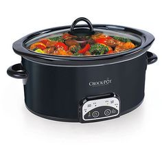 Crock-Pot Smart Programmable Slow Cooker, Stainless Steel Only 10 In Stock Order Today! Product Description: This Crock-Pot Smart Pot Programmable Slow Cooker is a wonderful choice for Slow Cooker Huhn, 6 Quart Slow Cooker, Crock Pot Slow Cooker, Slow Cooker Chicken, Slow Cooker Recipes, Crockpot Recipes, Crock Pots, Rice Cooker, Chicken Recipes
