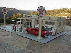 BUDDY L TEXACO GAS STATION 1960'S #Texaco #1960Chevrolet
