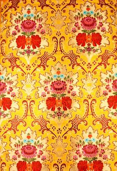 Indian Silk. I want to design a room around this.