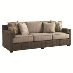 Lexington Blue Olive Sofa with Scatterback Cushions 3230-33S