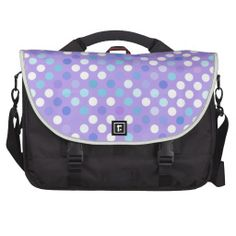 "Lilac ""Pretty Polkadots"" Commuter Bag"