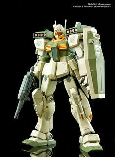 The WhiteBase of Gundam@EFSF: HGUC 1/144 GM III (Unicorn Desert Color Ver.)