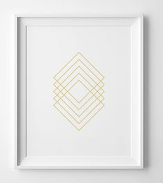 Wall art print, gold geometric print, printable art, modern art, gold wall art, minimalist print, gold wall decor, geometric art, gold print by WallArtPrintables on Etsy https://www.etsy.com/listing/245489632/wall-art-print-gold-geometric-print
