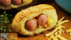 Hot Dog Buns, Hot Dogs, Pigs In A Blanket, Complete Recipe, Food Videos, Recipe Videos, Bagel, Bread, Ethnic Recipes