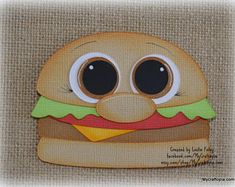 Junk Food Hamburguer Shopkins Premade Scrapbooking Embellishment Paper Piecing Scrapbook Images, Scrapbook Sketches, Foam Crafts, Paper Crafts, Felt Quiet Books, Thinking Day, Unique Cards, Punch Art, Bullet Journal Inspiration