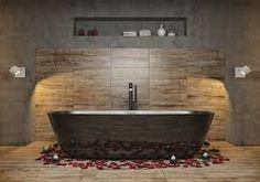 """Résultat de recherche d'images pour """"salle de bain moderne cocooning chaud"""""""