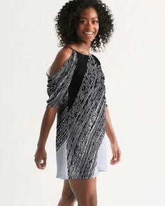 Shopping Goods Brilliant White & Black   Kin Custom: On-Demand Print and Dropship, Made Easy