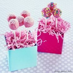 cake pop Easter idea...place florist foam in bottom of Easter basket, cover with Easter grass, stick cake pop sticks into foam to display
