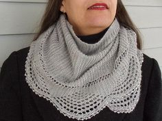 Ravelry: Madeline Shawl pattern by Nina Machlin Dayton