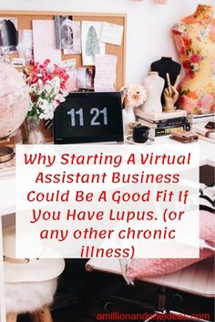 I started my journey as a Pinterest VA due to my Lupus but out of fear I went back to work but let's face it I am exhausted miserable and sorry. I am on the journey to build my client list and work on my terms. I hope to help you achieve the same. #lups #chronicillness #chronicpain #pinterestvirtualassistant