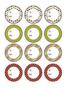 FREE | The Budget Diet   Christmas printable tags