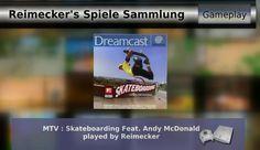 Gameplay : MTV : Skateboarding Feat Andy McDonald [Dreamcast]
