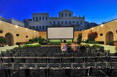 Σινε Παλλας Συρος Syros Greece, Outdoor Cinema, Under The Stars, Athens, Public, San, Mansions, House Styles, Summer