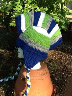 35 Best Seahawks crochet images  640798162ef