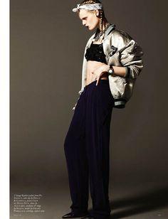 Hanne Gaby Odiele by Michael Schwartz for Black #16