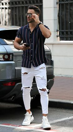 Trendy Mens Fashion, Stylish Mens Outfits, Mens Fashion Suits, Casual Outfits, Men Casual, Blazer Outfits Men, Superenge Jeans, Dope Outfits For Guys, Mode Streetwear